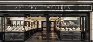 Extnernal photo of Appleby Jewellers in Dublin